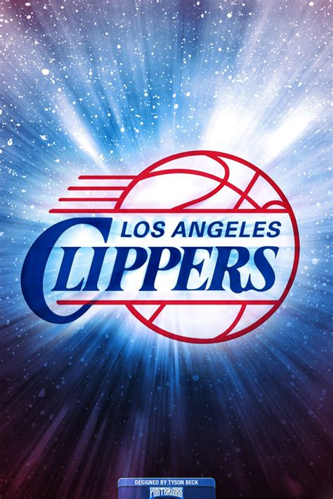 Los Angeles Clippers Logo Wallpaper | Posterizes | NBA