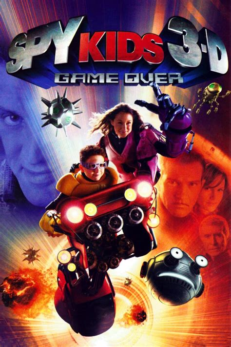 Watch Spy Kids 3-D: Game Over (2003) Free Online