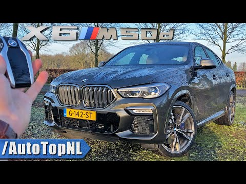 BMW X6 M50D 2016 with M Performance Body Kit Review - YouTube