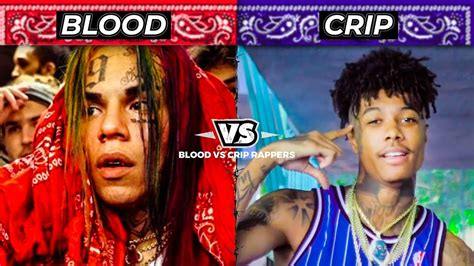 BLOOD RAPPERS vs CRIP RAPPERS - YouTube