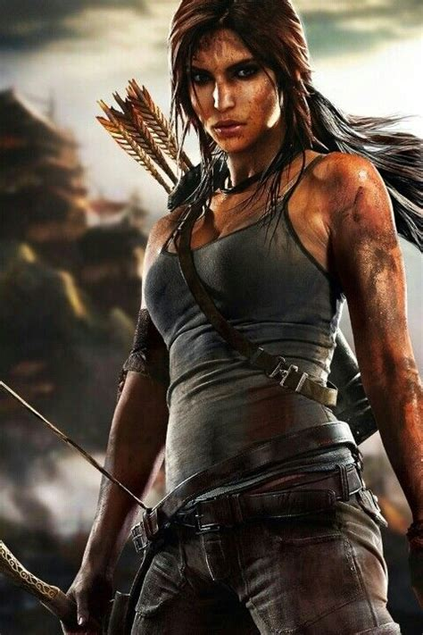 Lara Croft--never played the game and the movie was meh