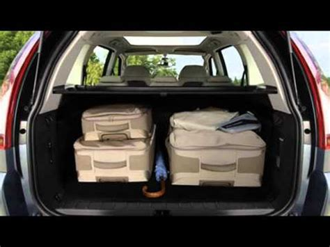 citroen c4 grand picasso luggage space - YouTube