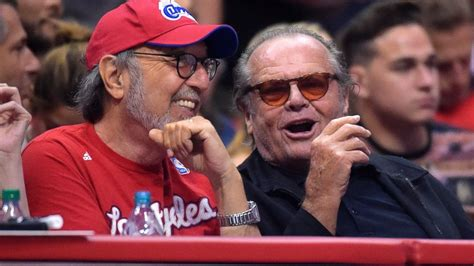 Jack Nicholson Attends the Clippers Game and Causes a