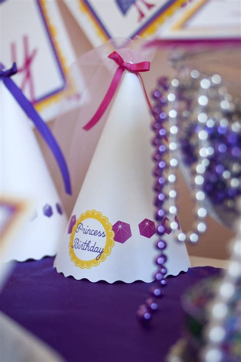 Princess Printable Birthday Party - Paper and Cake Paper