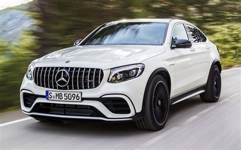 2017 Mercedes-AMG GLC 63 S Coupe - Wallpapers and HD