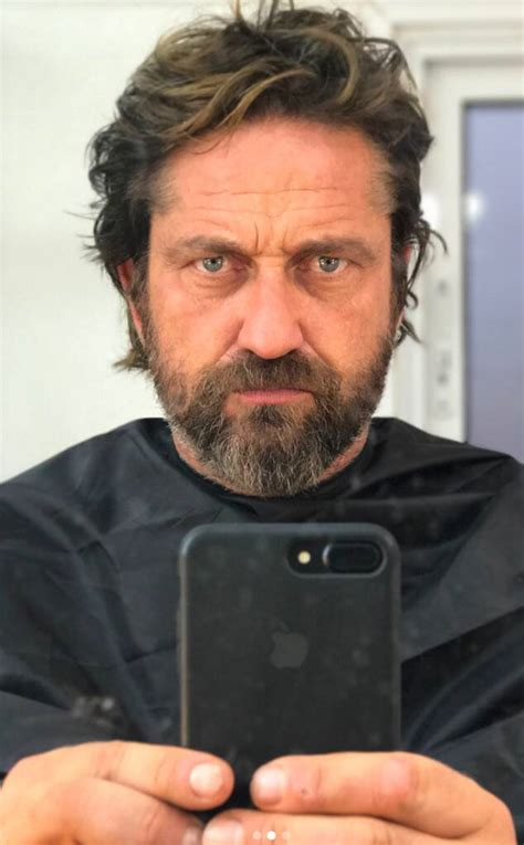 Gerard Butler Looks Like a New Man After Shaving Off His