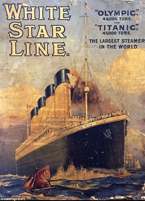 Titanic advert from 1911 discovered during home renovation
